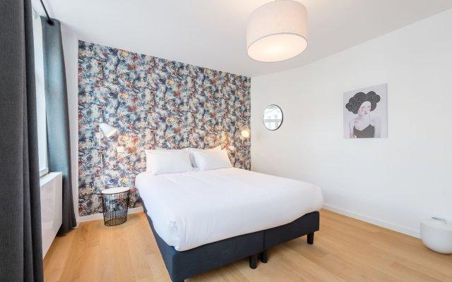 Отель Smartflats City - Toison D Or Брюссель комната для гостей