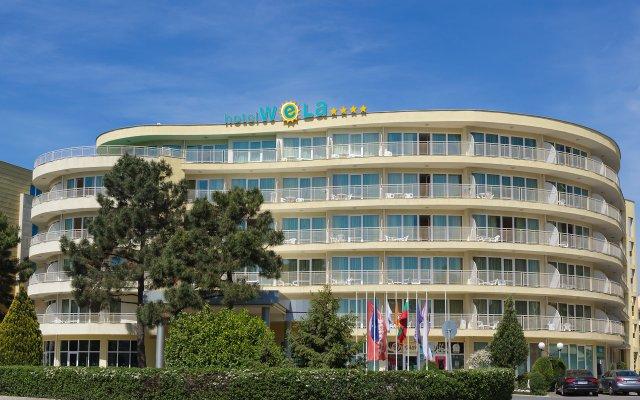 Отель WELA Солнечный берег вид на фасад
