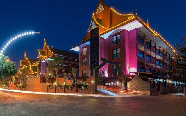 Отель Siam Elegance Богазкент вид на фасад