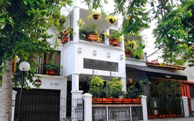 Отель Casa Miraflores Колумбия, Кали - отзывы, цены и фото номеров - забронировать отель Casa Miraflores онлайн вид на фасад