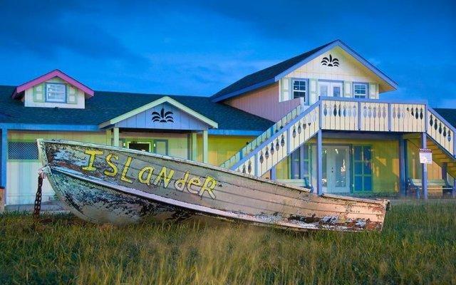 Отель Grand Cayman Marriott Beach Resort Каймановы острова, Севен-Майл-Бич - отзывы, цены и фото номеров - забронировать отель Grand Cayman Marriott Beach Resort онлайн вид на фасад