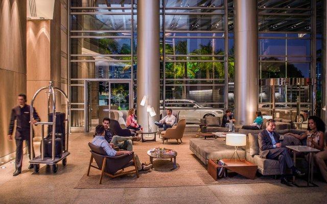 Отель Grand Hyatt Sao Paulo вид на фасад