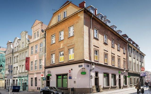 Отель Kramarska Lux - Friendly Apartments Польша, Познань - отзывы, цены и фото номеров - забронировать отель Kramarska Lux - Friendly Apartments онлайн вид на фасад