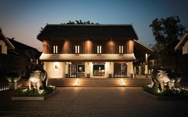 Отель Sofitel Luang Prabang вид на фасад