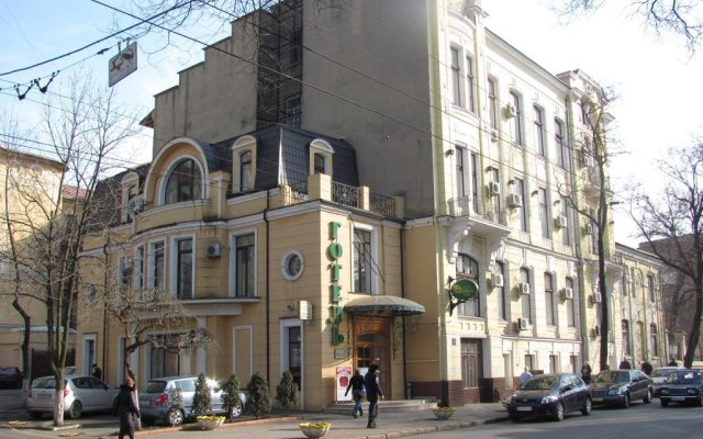 Гостиница Октябрьская вид на фасад
