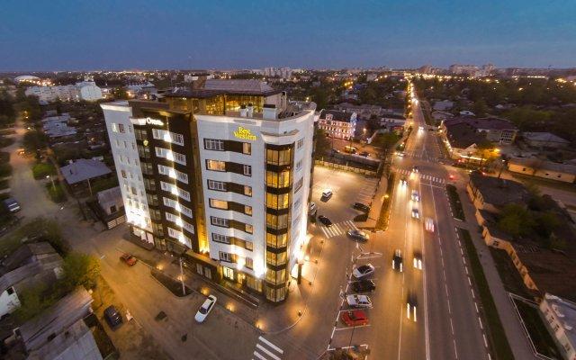 Гостиница Спа-отель Best Western Русский Манчестер в Иваново - забронировать гостиницу Спа-отель Best Western Русский Манчестер, цены и фото номеров вид на фасад