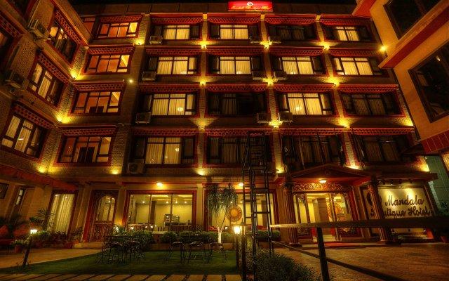 Отель Mandala Boutique Hotel Непал, Катманду - отзывы, цены и фото номеров - забронировать отель Mandala Boutique Hotel онлайн вид на фасад