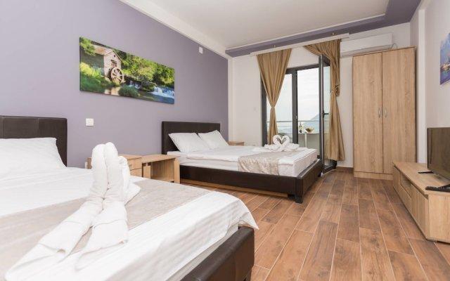 Отель Bevilacqua Apartments Черногория, Будва - отзывы, цены и фото номеров - забронировать отель Bevilacqua Apartments онлайн вид на фасад