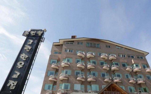 Отель Phoenix Greentel Южная Корея, Пхёнчан - отзывы, цены и фото номеров - забронировать отель Phoenix Greentel онлайн вид на фасад