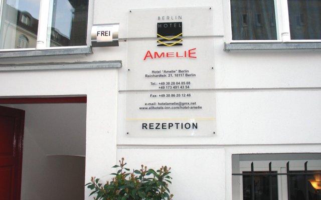 Отель Amelie Berlin Германия, Берлин - 2 отзыва об отеле, цены и фото номеров - забронировать отель Amelie Berlin онлайн вид на фасад