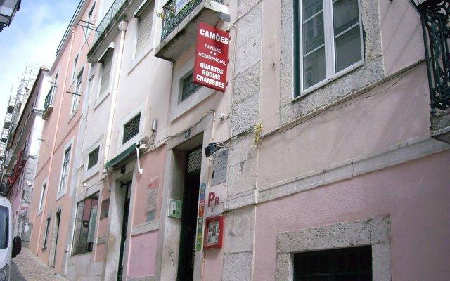 Отель Residencial Camoes Португалия, Лиссабон - отзывы, цены и фото номеров - забронировать отель Residencial Camoes онлайн вид на фасад