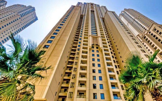 Отель Vacation Bay Jumeirah Beach Residence Bahar 4 вид на фасад