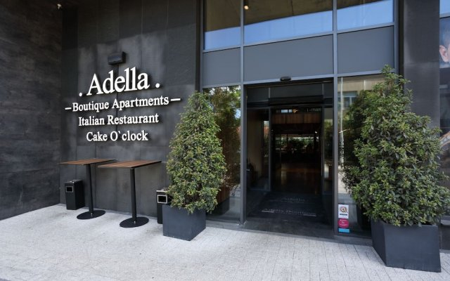 Отель Adella Boutique София вид на фасад