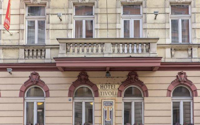 Hotel Tivoli Prague вид на фасад