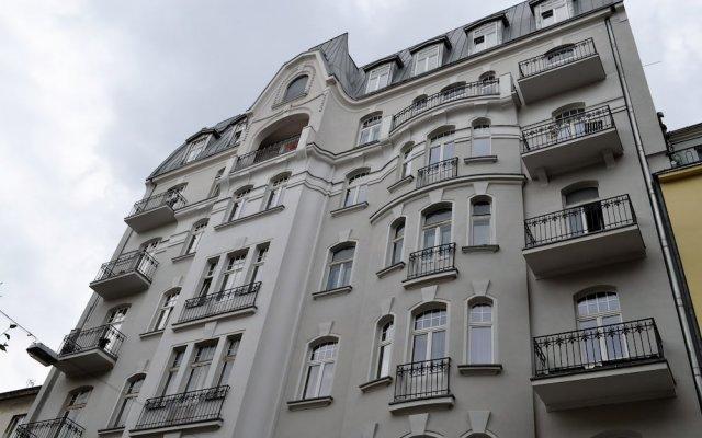 Отель Apartament na Wilczej Польша, Варшава - отзывы, цены и фото номеров - забронировать отель Apartament na Wilczej онлайн вид на фасад