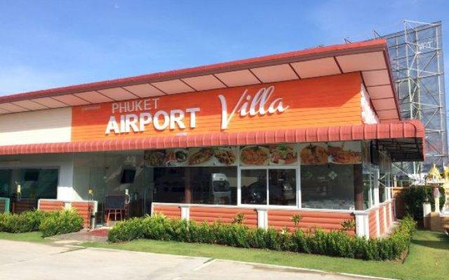 Отель Phuket Airport Villa вид на фасад