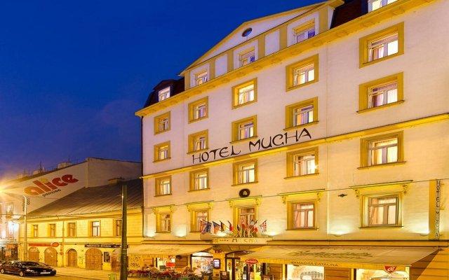 Отель Mucha Hotel Чехия, Прага - - забронировать отель Mucha Hotel, цены и фото номеров вид на фасад
