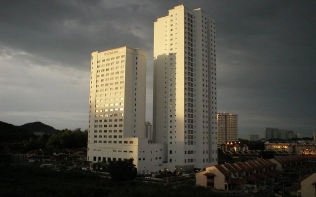 Отель AC Hotel by Marriott Penang Малайзия, Пенанг - отзывы, цены и фото номеров - забронировать отель AC Hotel by Marriott Penang онлайн вид на фасад