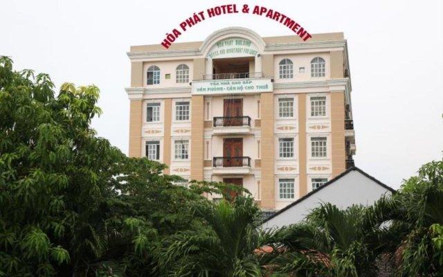 Hoa Phat Hotel & Apartment вид на фасад