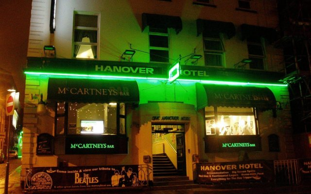 Отель Hanover Hotel Великобритания, Ливерпуль - отзывы, цены и фото номеров - забронировать отель Hanover Hotel онлайн вид на фасад