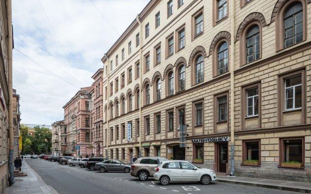 Апартаменты Homely на Громовой 8 Санкт-Петербург вид на фасад