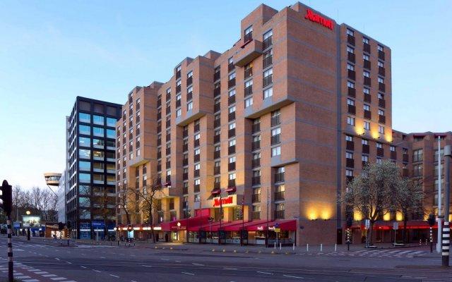 Amsterdam Marriott Hotel вид на фасад