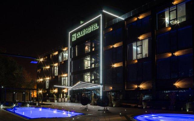 Гостиница M1 club вид на фасад