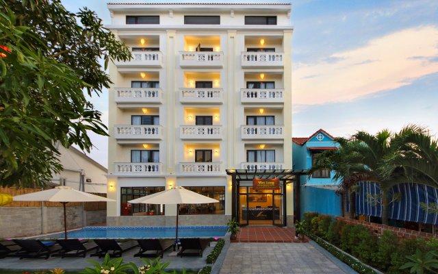 Отель Viet Long Hoi An Beach Hotel Вьетнам, Хойан - отзывы, цены и фото номеров - забронировать отель Viet Long Hoi An Beach Hotel онлайн вид на фасад