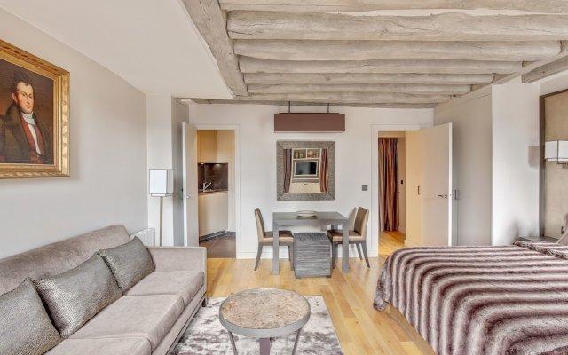 Отель Luxury Apartment Paris Louvre Франция, Париж - отзывы, цены и фото номеров - забронировать отель Luxury Apartment Paris Louvre онлайн комната для гостей