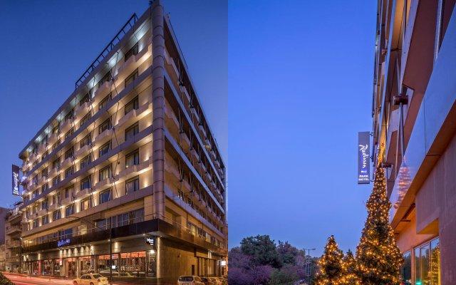 Radisson Blu Park Hotel, Athens Афины вид на фасад