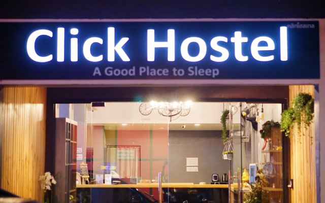 Click Hostel Бангкок вид на фасад