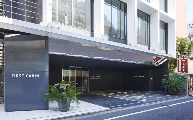 Отель First Cabin Akihabara Япония, Токио - отзывы, цены и фото номеров - забронировать отель First Cabin Akihabara онлайн вид на фасад