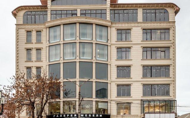 Гостиница Central City Makhachkala вид на фасад