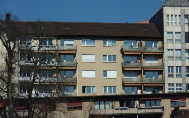 Апартаменты EMA house Serviced Apartments, Unterstrass Цюрих вид на фасад