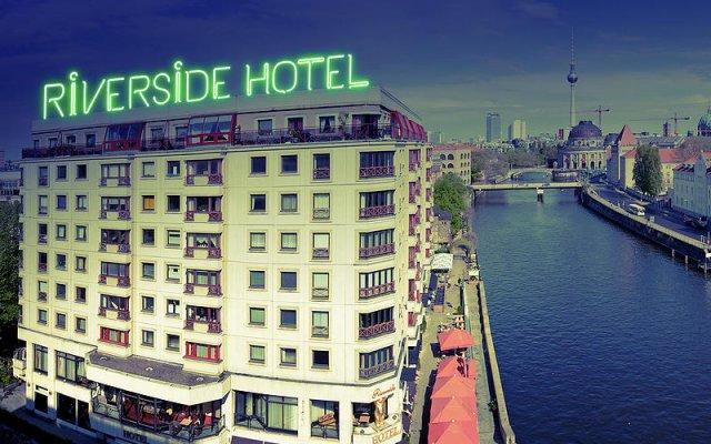 Отель Riverside Royal Hotel Германия, Берлин - отзывы, цены и фото номеров - забронировать отель Riverside Royal Hotel онлайн вид на фасад