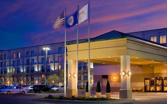 Отель Marriott Minneapolis Airport США, Блумингтон - отзывы, цены и фото номеров - забронировать отель Marriott Minneapolis Airport онлайн вид на фасад