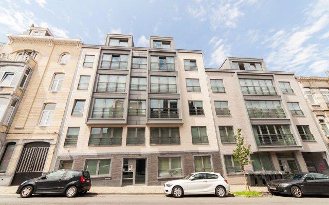Апартаменты Sweet Inn Apartments Theux Брюссель вид на фасад
