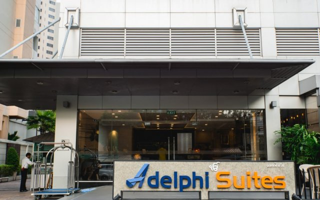 Отель Adelphi Suites Bangkok вид на фасад