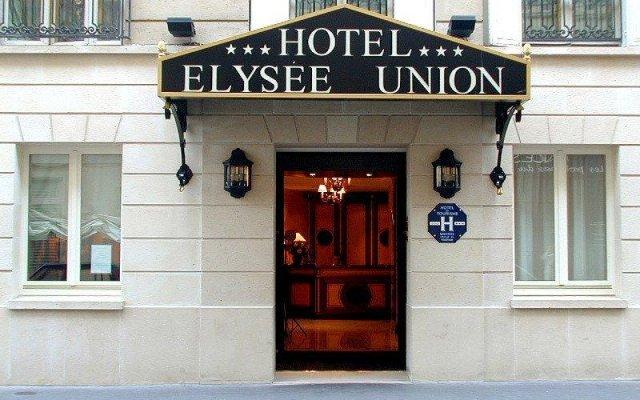 Elysees Union Hotel вид на фасад