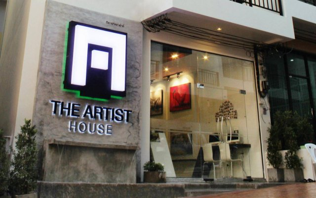 Отель The Artist House вид на фасад