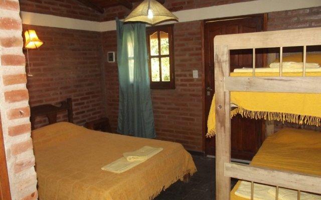 Отель Hosteria Santa Francisca Вилья Кура Брочеро комната для гостей