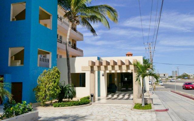 Отель El Ameyal Hotel & Family Suites Мексика, Кабо-Сан-Лукас - отзывы, цены и фото номеров - забронировать отель El Ameyal Hotel & Family Suites онлайн вид на фасад