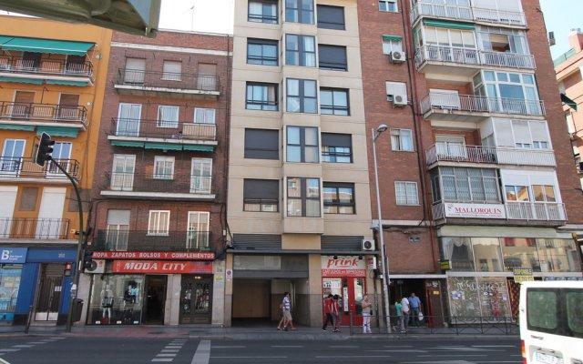 Отель Castilla Luz Deco вид на фасад