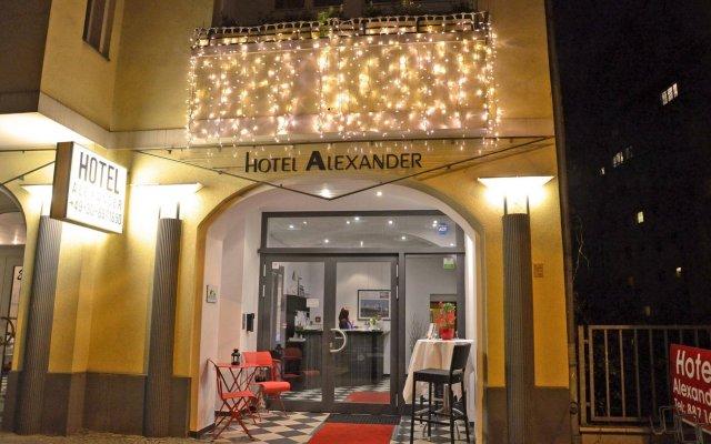 Отель Alexander Berlin Берлин вид на фасад