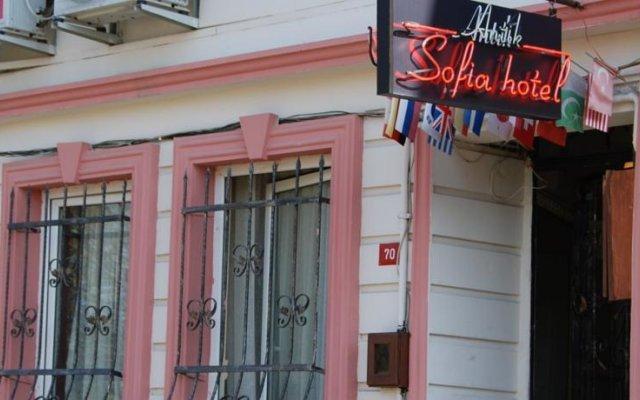 Antik Sofia Hotel Турция, Стамбул - 1 отзыв об отеле, цены и фото номеров - забронировать отель Antik Sofia Hotel онлайн вид на фасад
