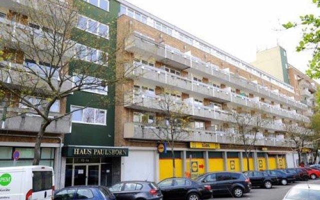Апартаменты Classic Apartment Берлин вид на фасад