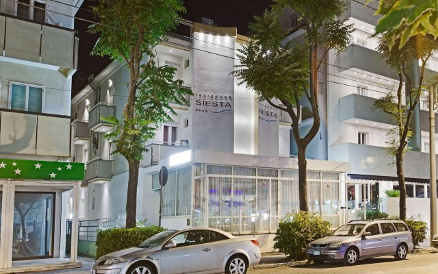 Отель Residence Siesta Италия, Римини - отзывы, цены и фото номеров - забронировать отель Residence Siesta онлайн вид на фасад