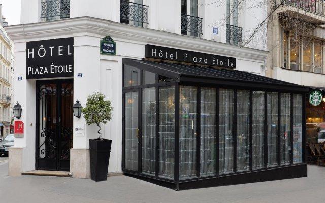 Отель Plaza Etoile вид на фасад
