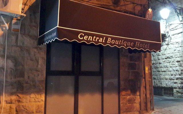 Central Boutique Hotel Израиль, Иерусалим - отзывы, цены и фото номеров - забронировать отель Central Boutique Hotel онлайн вид на фасад