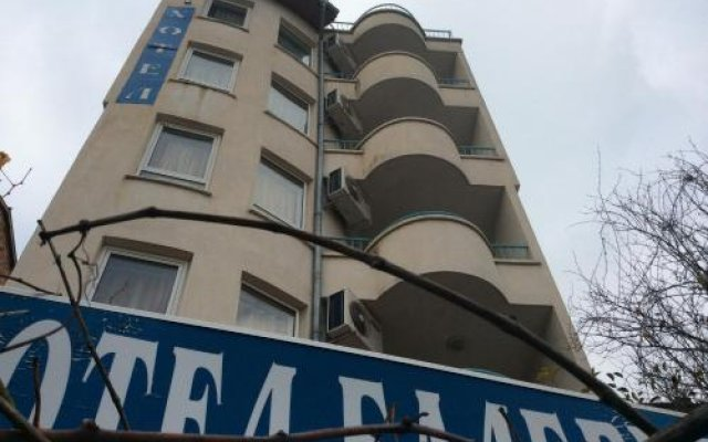 Hotel Balevurov Сандански вид на фасад